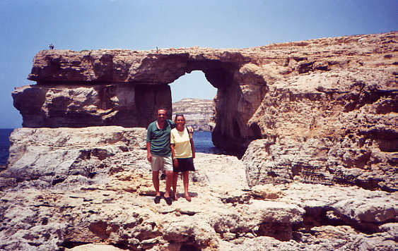 Nimar58 viaggi nel mondo malta - La finestra azzurra gozo ...